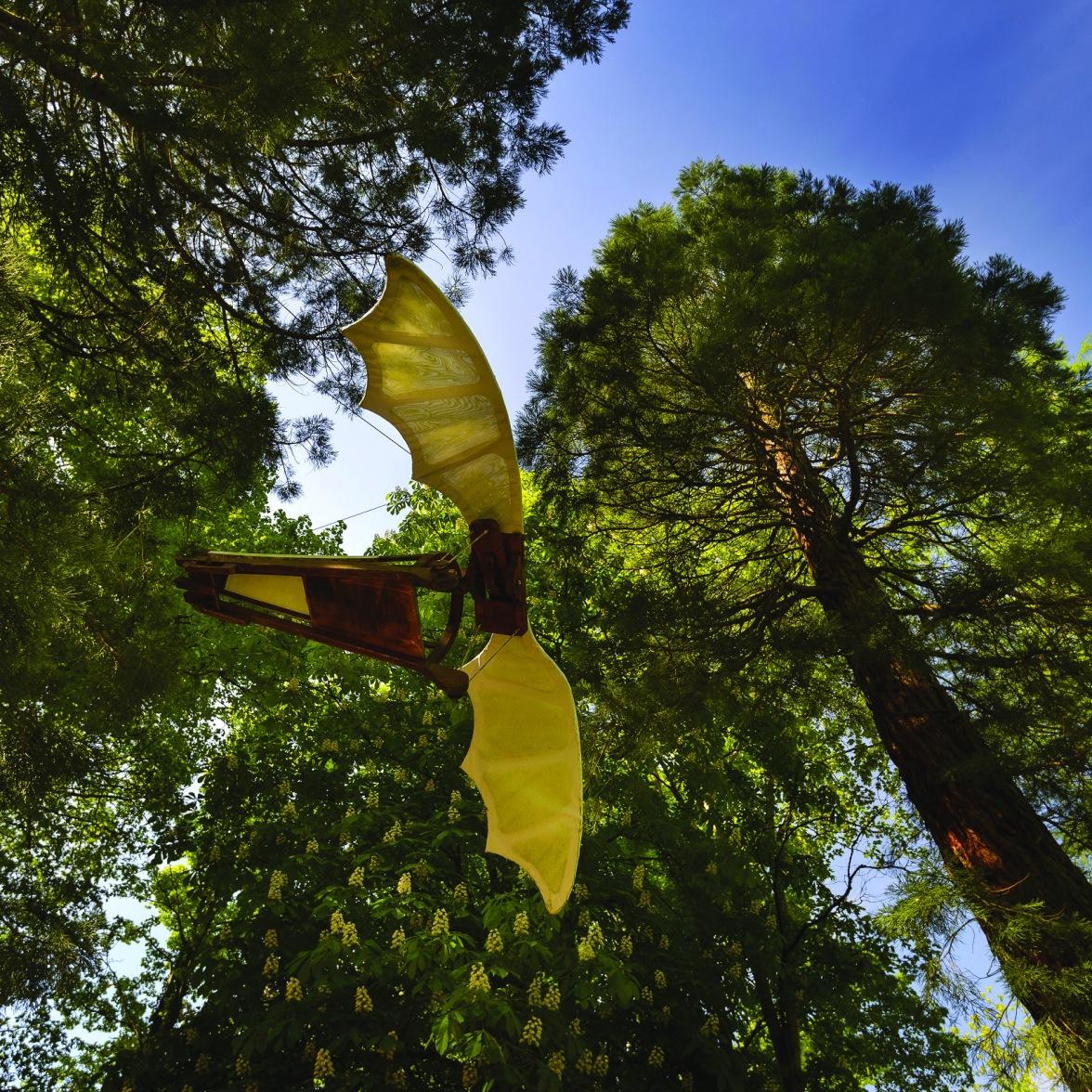 Parc Leonardo da Vinci - Machine volante - Maquettes © Chateau du Clos Luce - L. de Serres (15)