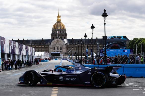 Robin Frijns (NLD), Envision Virgin Racing, Audi e-tron FE05, returns to the garage