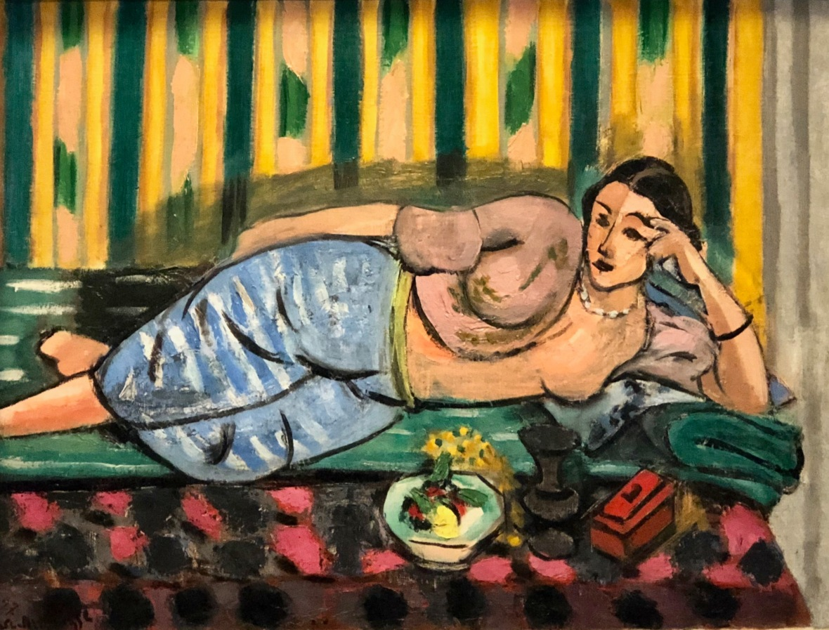 Odalisque au coffret rouge 1927