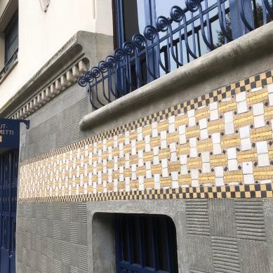 インスティチュート・ジャコメッティ / 建物全体がアール・デコの宝石箱©Tomoko FREDERIX